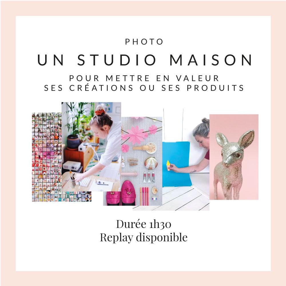 Organiser son studio à la maison – Cours Zoom 07.12.2020